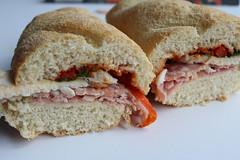 Asda Meat Feast Sub (All Sandwiches) Tags: asda sub jalapeno chorizo marinara meat