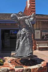 Dancing Statue-Cowboy Club-Sedona AZ (Emory Minnick) Tags: thecowboyandhislady sedonaarizona