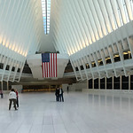 Panorama in der World Trade Center PATH-Station in New York City, USA thumbnail