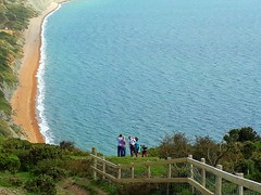 Living life on the edge..   Explore#270 (Mike-Lee) Tags: thorncombebeacon dorset aug2017 eype westbay walk explore270 aug2017campertrip campervan mike jill hols uk phonecamera
