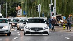 Merc-AMG C63 Estate (MKSpots) Tags: slammed lowered mercedes mercamg mercedesamg c63 estate zurich switzerland