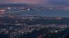 The Bay Area from above Berkeley (rodgersam) Tags: northerncalifornia sanfrancisco sanfranciscobay oaklandbaybridge water overlook lights dusk fog city cityscape skyline skyscrapers bayarea