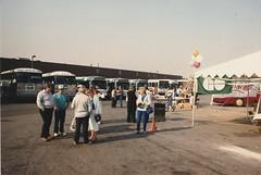 Steeprock GO Transit 10th Anniversary (History in Photos) Tags: gotransit go ontario toronto steeprock bus buses transit 1989 bramptontransit canada mci gmc motorcoachindustries coachbus ttc gmcnewlookbus newlook new look gmcnewlook gmcbus