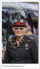 Steampunk Weekend (Paul Simpson Photography) Tags: steampunk steampunks costumes costume paulsimpsonphotography sonya77 gathering fancydress hat unique style august2017 lincoln steampunkfestival imagesof imageof photoof photosof goggles uniform ladyinahat streetphotography people lady woman photosofwomen england lincolnshire