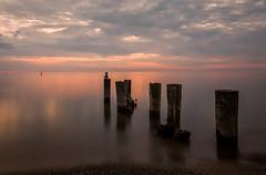 That Morning Light (Calvin J.) Tags: fiftypointbeach beach longexposure canon 5dmarkiii tse24mmf35lii tiltshiftlens landscape sunrise vsco lake water tiltshift wideanglelens primelens minimalism negativespace surreal
