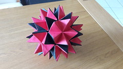 Revealed Flower (gillesdecourbey) Tags: origami modulaire flower