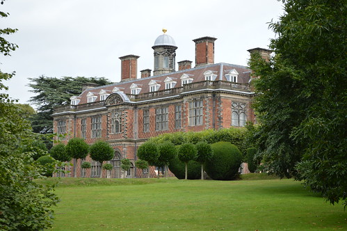 Sudbury Hall side view