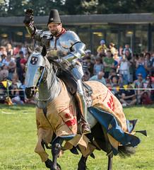 KNIGHTS JOUSTING, BOLSOVER CASTLE, DERBYSHIRE_DSC_5941_LR_2.0 (Roger Perriss) Tags: bolsovercastle horses joust medieval d750 lance armour gallop castle