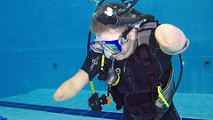 0726_07 (KnyazevDA) Tags: disability disabled diver diving amputee underwater wheelchair