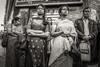 Happy (Mustafa Selcuk) Tags: 2017 hint lafêtedeganesh paris august fujifilm hindu street streetphotographer streetphotography travel xpro2 blackandwhite bnw bw siyahbeyaz monochromatic monochrome mood
