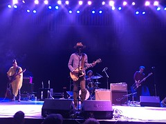 Gary Clark Jr 2 (venusnep) Tags: garyclarkjr gary clark jr tabernacle atlantaga atlanta ga georgia concert july 2017 iphone