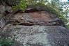 Thunderhead Sandstone (Neoproterozoic; Chimney Tops overlook roadcut, Great Smoky Mountains, Tennessee, USA) 8 (James St. John) Tags: thunderhead sandstone precambrian proterozoic neoproterozoic clingmans dome great smoky mountains national park tennessee