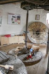 Holgate Windmill, July 2017 - 5 (nican45) Tags: 1770 1770mm 1770mmf284dcmacro 2017 22july2017 22072017 canon dslr eos70d hwps holgate holgatewindmill july sigma york yorkshire gears iron machinery mill millstone stonefloor stonesfloor windmill
