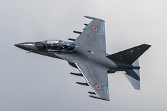 Yakovlev Yak-130 - 32 (NickJ 1972) Tags: zhukovsky maks 2017 airshow aviation yakovlev yak130 mitten 134 white