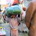 Boy carrying Qat, Sanaa, Yemen
