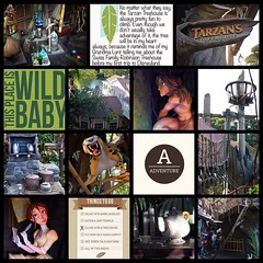 If I could spell the Tarzan tell, I would enter that here. #theockeysgotodisneyland #projectmouse #projectlifeapp #memorykeeping #disneyland #tarzanstreehouse (girl231t) Tags: ifttt instagram 2017 vacation scrapbook layout 12x12layout projectlifeapp affinityphotoapp