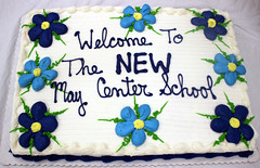 Welcome to the ribbon cutting for our Friends and Families gathering to celebrate and visit the new school building for May Center School for Autism and Developmental Disabilities in West Springfield Mass..