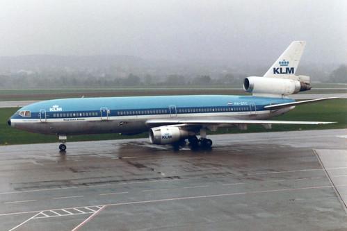 """KLM - Royal Dutch Airlines McDonnell Douglas DC-10-30  PH-DTC """"Frederik Francois Chopin"""""""