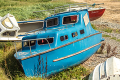 'Abandoned' boat (shabbagaz) Tags: great britain lytham st annes united kingdom 2017 a65 alpha august coast england estuary lancashire north ribble seaside shabbagaz sony summer town uk west greatbritain lythamstannes unitedkingdom