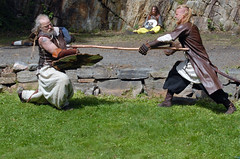 Vikings fighting (gormjarl) Tags: viking fighting daffy norway bronseplassen vikingmarked