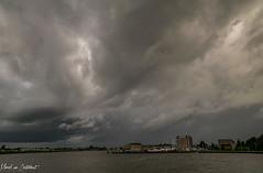 Storm 2 (M van Oosterhout) Tags: storm thunderstorm thunder lightning wind cloud clouds cloudporn sunset alphen aan den rijn dutch holland netherlands nederland groene hart noodweer weather weer rain regen