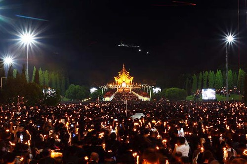 Chiang Mai Ratchaphruek Gardens to Stage Candlelight for Mother's Day