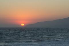 Zuma Beach Sunset (Robert Borden) Tags: sea zuma sand malibu california westcoast usa northamerica canon canonphotos canonrebel