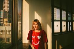 (Kevin .H) Tags: 台灣 台北 攝影 外拍 人像 女孩 taiwan taipei girl photography canon 5d2 5dii 35mm film f2 光影 騎樓