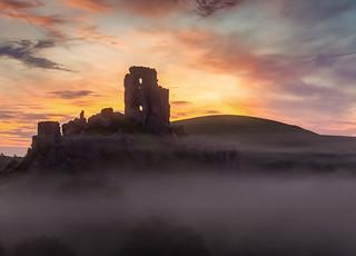 Corfe at dawn