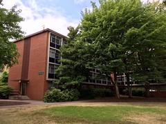 Collier Hall, University of Oregon.  Eugene Oregon, August 12 2017. (Dan Haneckow) Tags: 2017 eugene uofo
