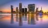 Sunset in Rotterdam - Kop van Zuid (Siebring Photography) Tags: erasmusbridge kopvanzuid rijnhaven rotterdam wilhelminapier harbor illuminated reflection skyline sunset zuidholland nederland nl