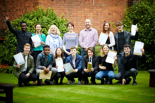 Sixth Form Team and 2017 A Level