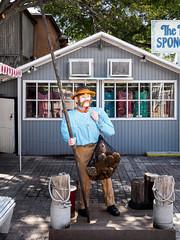 Key West Street Scenes: Sponge man statue (Ed Rosack) Tags: usa ©edrosack street thekeys keywest florida