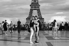 Lovers in Paris (AbdelBokeh) Tags: lovers paris tour eiffel tower