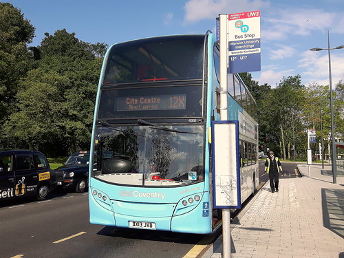 NX Coventry_Bus 4888 Louise Isabel_Bus Interchange_Warwick University_Gibbet Hill Rd_Coventry_Aug17