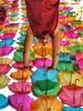 Vive y sé feliz - Live and be happy! (Susana M.L.) Tags: colores diversión paraguas umbrela