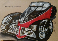 Classic sports car drawing doodle sketch (Howie Green) Tags: classic sports car drawing doodle sketch