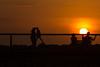 Atardecer en el muelle de la Tierra del Río - Riohacha (wendyuska) Tags: sol atardecer colombia muelle jetty sunset silhouette silueta