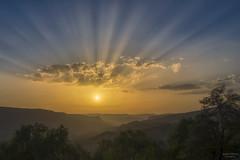 Anochecer (jetepe72) Tags: anochecer paisaje morella castellon landscape sol naturaleza nature cielo