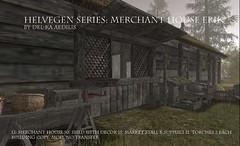 Helvegen Series: Merchant House Erik (nea.narstrom) Tags: wikinger vikings torvaldsland medieval north norse merchant marketsupply secondlife