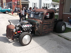 1946 Ford Rat Rod truck (cjp02) Tags: old fashion days festival north salem hendricks county indiana labor day weekend annual