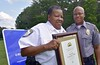 Germanna earns Crime Prevention Campus recognition (Germanna CC) Tags: 2017 august25 fridayafternoon gcc germannacommunitycollegecouncil lgc locustgrovecampus locustgrove va usa security crimeprevention police
