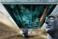 jack in the box ... (smithjuha440) Tags: maske licht gesicht box wand photoshop sony surreal fantasy