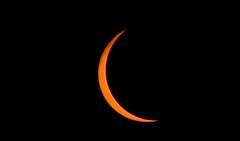 Almost There! (Bill Jacomet) Tags: eclipse nashville tn 2017 lane motor museum america tennesse automotive auto car moon sun