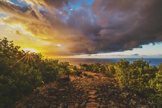 La Réunion, le chemin des anglais.