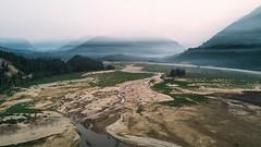Decorations (John Westrock) Tags: landscape mountains wildfiresmoke terrain nature aerial djimavicpro dronephotography pacificnorthwest washington snoqualmiepass