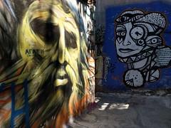 Faces - Athens street art (ashabot) Tags: athens greece athensgreece streetart streetscenes