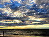 Cloudy Day at Fairhope Pier (Deadly_Dreamer) Tags: iphone taken beach photo say color golden cloudy eclipse 2017 nikon yay lady walking