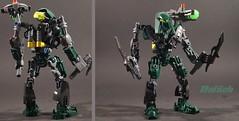 Defilak | 8929 Revamp (2017 Bio-cup) (anton_le) Tags: 2017 biocup defilak matoran bionicle revamp green mahri nui 2007