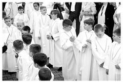First Communion (posterboy2007) Tags: warsaw poland communion church religion indoctrination boys monochrome